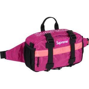 NWT Supreme Magenta Waist Bag FW19